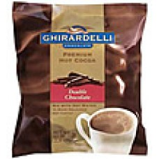 Double Chocolate Premium Hot Cocoa Case of 4 Bags